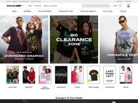Online store Bewakoof