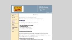 www.bic-code.de Vorschau, BIC Code
