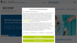 www.bicom-bioresonanz.de Vorschau, Bicom Bioresonanz