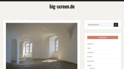 www.big-screen.de Vorschau, Big Screen GmbH