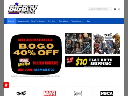 Bigboycollectibles coupon codes August 2018