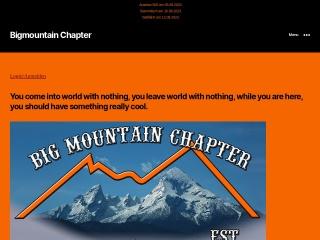 Screenshot der Website bigmountain.at