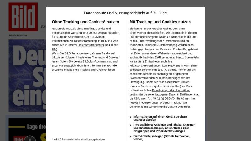 www.bild.de Vorschau, Bild.de