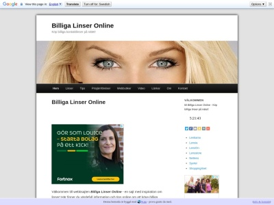 www.billigalinseronline.n.nu