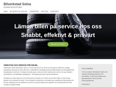 www.bilverkstadsolna.com