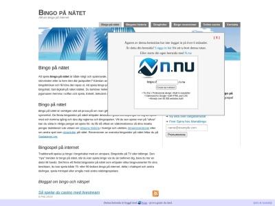 www.bingopanatet.n.nu