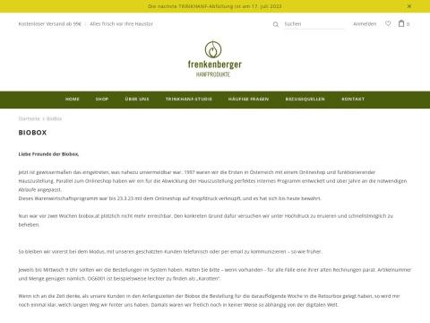Frenkenberger BioBox