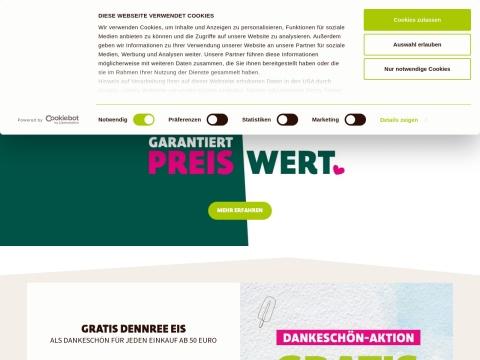 bioFiedler - Supermarkt mit Versand via Webshop