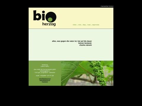 bioherzog - wein & land