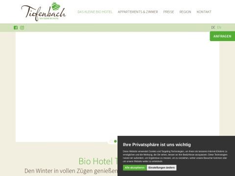 Bio Hotel Tiefenbach - Veronika Kabusch