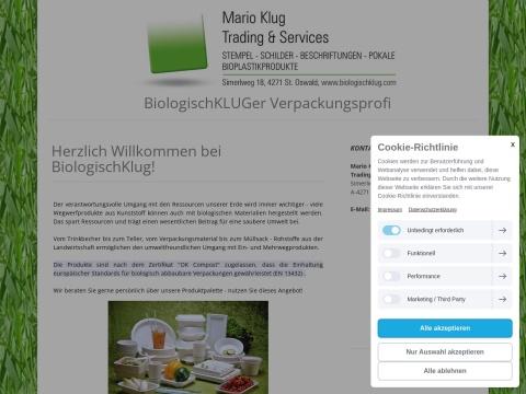 Mario Klug - Trading & Services