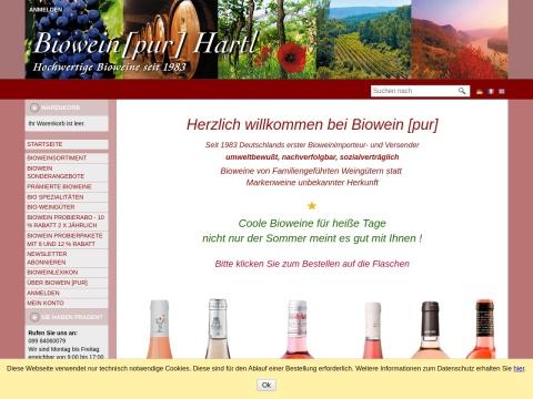 Bioweinpur - Weinhaus Hartl
