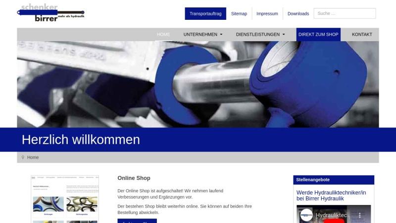 www.birrer-hydraulik.ch Vorschau, Birrer Hydraulik AG