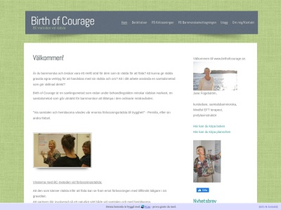 www.birthofcourage.se