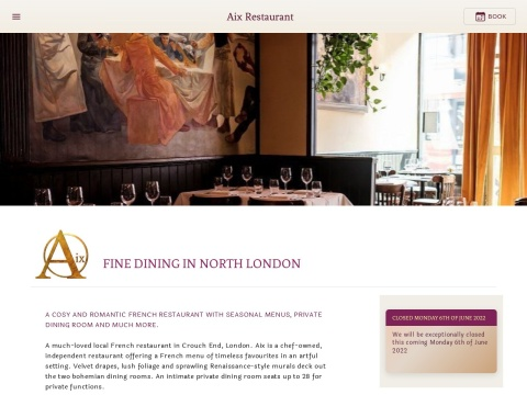 http://www.bistroaix.co.uk