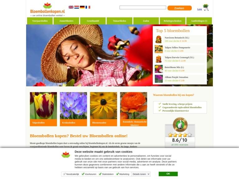 Bloembollenkopen.nl screenshot