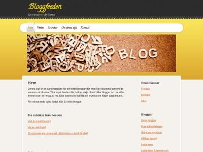 www.bloggfeeden.se