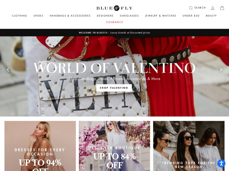 Bluefly screenshot