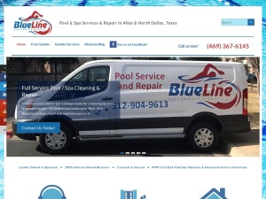 BlueLine Pool & Spa Services