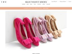 Blue Velvet Shoes coupon codes August 2019