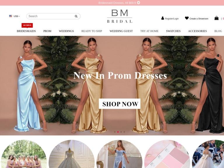 BM BRIDAL Coupon Codes