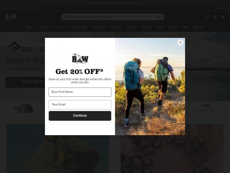 Bobwards.com screenshot