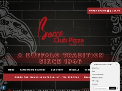 Bocce Club Pizza coupon codes May 2018