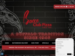 Bocce Club Pizza coupon codes January 2019
