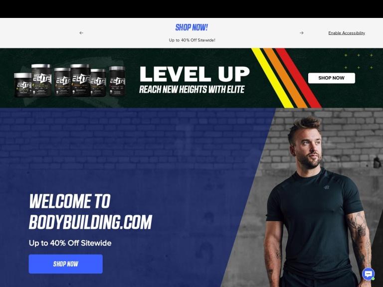 Bodybuilding Promo Code screenshot