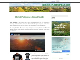 Screenshot para sa bohol-philippines.com