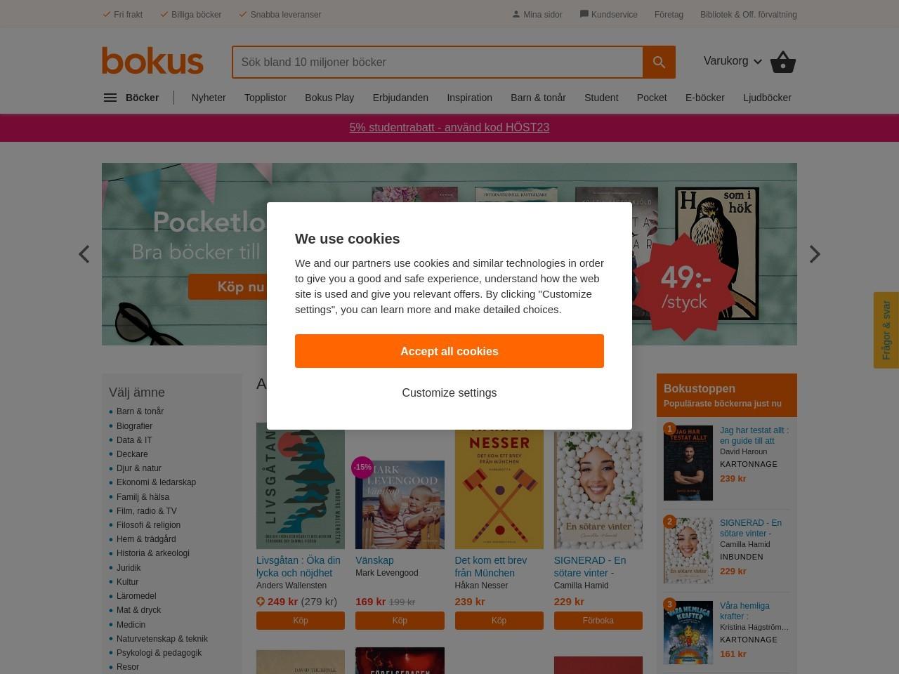 Svenska Böcker Online