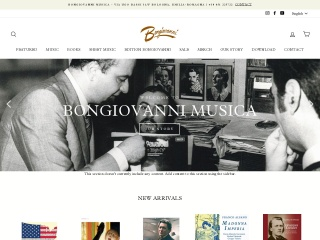 screenshot bongiovanni70.com