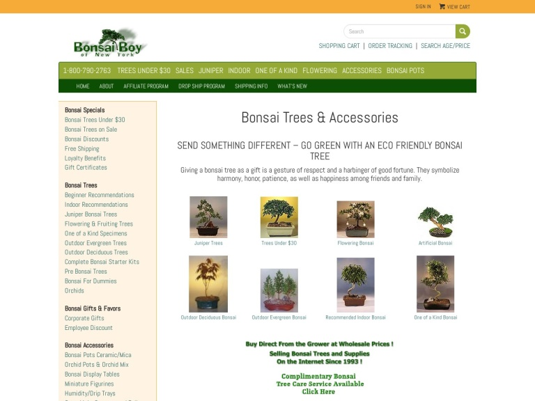 Bonsai Boy Of New York Coupon Codes & Promo codes