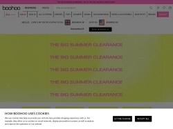 BooHoo.com screenshot