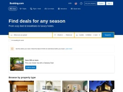 Booking.com Uk screenshot