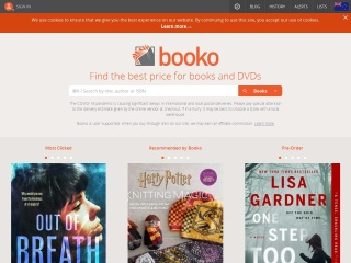 Screenshot for booko.co.nz