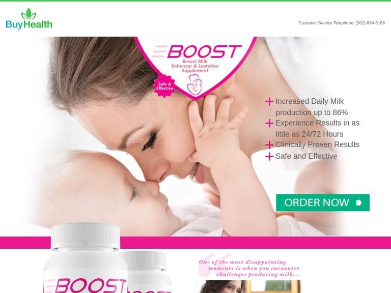 Boost Milk Enhancer screenshot