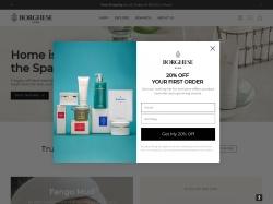 borghese.com screenshot