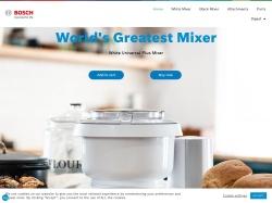 Bosch Mixers