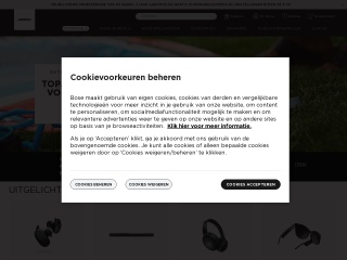 Screenshot for bosebelgium.be