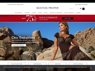 Screenshot for bostonproper.com