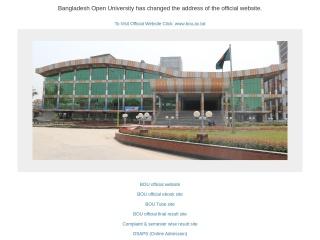 bou.edu.bd-এর স্ক্রীণশট