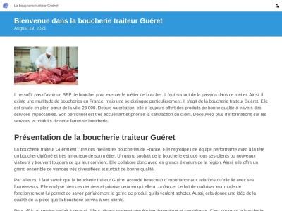 Guéret - Boucherie Traiteur à Sainte-Radegonde