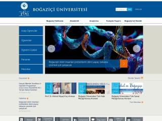 boun.edu.tr için Ekran Görüntüsü