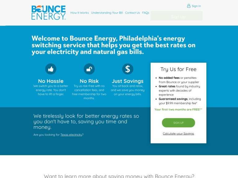 Bounce Energy Coupon Codes