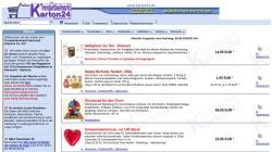 www.box24.de Vorschau, Trendartikelmarkt Karton24, Anja Göldner