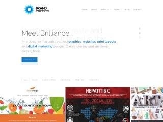 Screenshot for brandbrilliance.co.za
