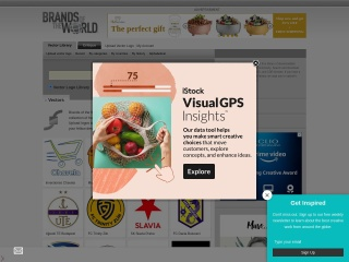 Screenshot for brandsoftheworld.com