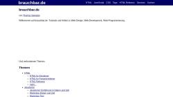 www.brauchbar.de Vorschau, Brauchbar.de