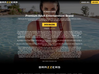 Screenshot for brazzer.com